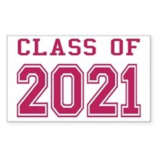 Class of 2021 (Pink) Decal