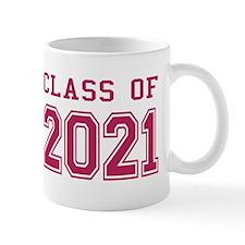 Class of 2021 (Pink) Mug