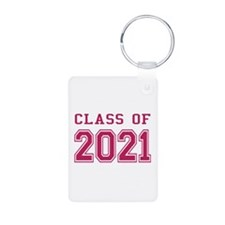 Class of 2021 (Pink) Keychains
