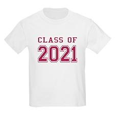 Class of 2021 (Pink) T-Shirt