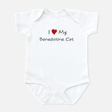 Love My Benedictine Cat Infant Bodysuit