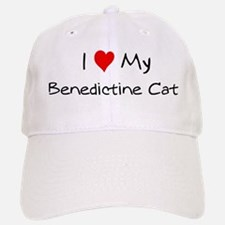Love My Benedictine Cat Baseball Baseball Cap