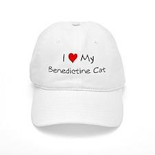 Love My Benedictine Cat Baseball Cap