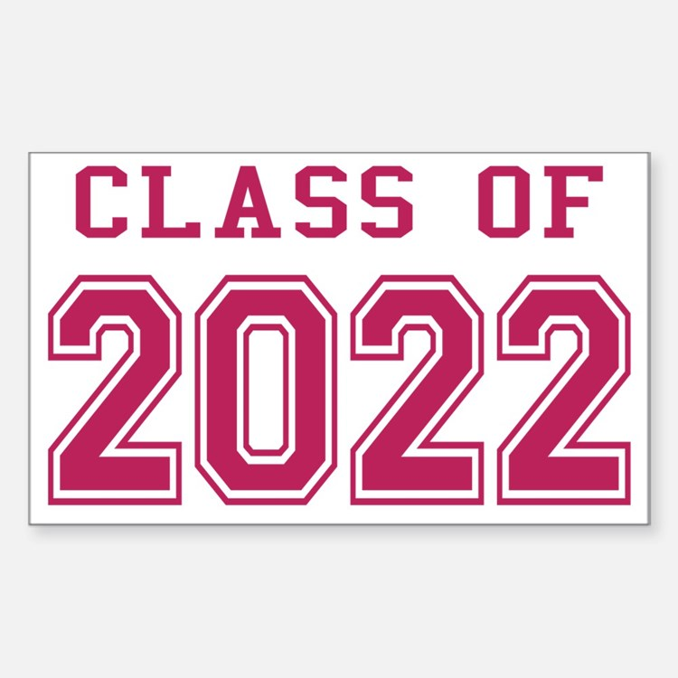 Class of 2022 (Pink) Decal