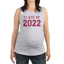 Class of 2022 (Pink) Maternity Tank Top
