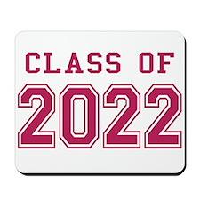 Class of 2022 (Pink) Mousepad