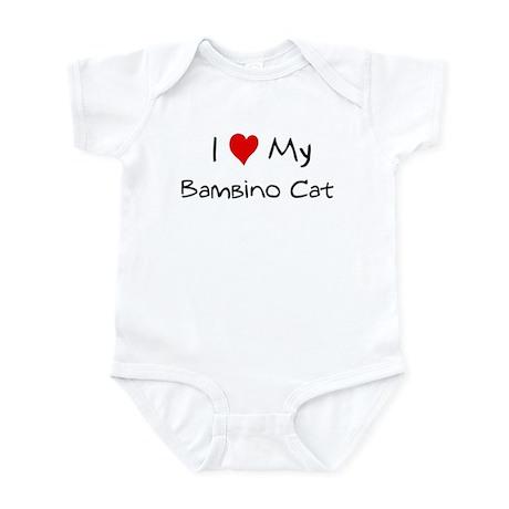 Love My Bambino Cat Infant Bodysuit