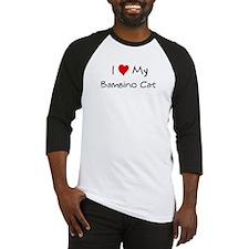 Love My Bambino Cat Baseball Jersey