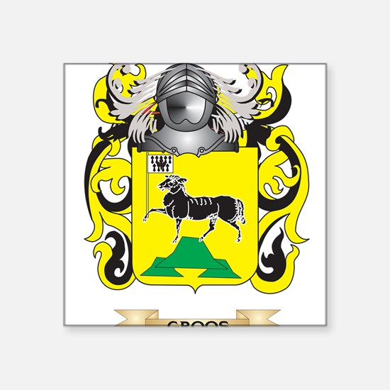 Groos Coat of Arms (Family Crest) Sticker