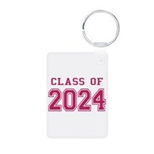 Class of 2024 (Pink) Keychains