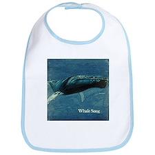 Whale Song Bib