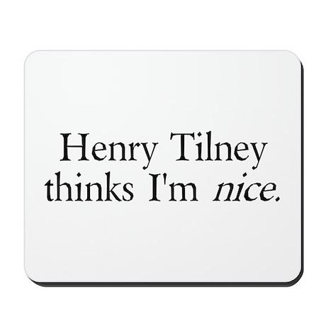 Henry Tilney Mousepad