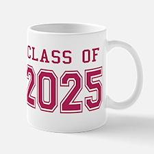 Class of 2025 (Pink) Mug