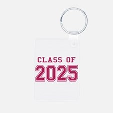 Class of 2025 (Pink) Aluminum Photo Keychain