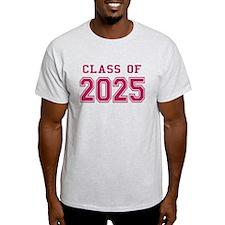 Class of 2025 (Pink) T-Shirt