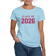 Class of 2026 (Pink) T-Shirt