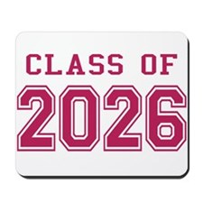 Class of 2026 (Pink) Mousepad