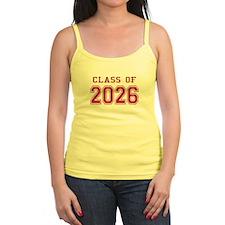 Class of 2026 (Pink) Jr.Spaghetti Strap
