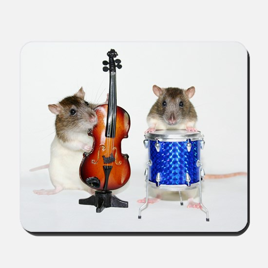 Musical Twins Mousepad
