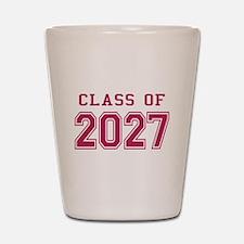 Class of 2027 (Pink) Shot Glass