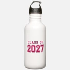 Class of 2027 (Pink) Water Bottle