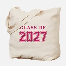 Class of 2027 (Pink) Tote Bag