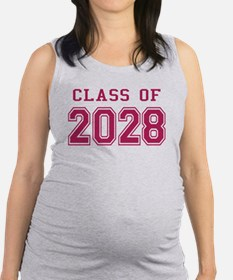 Class of 2028 (Pink) Maternity Tank Top