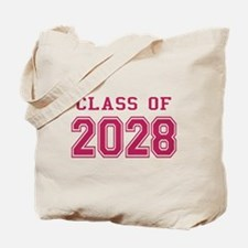 Class of 2028 (Pink) Tote Bag