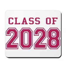 Class of 2028 (Pink) Mousepad