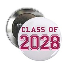 "Class of 2028 (Pink) 2.25"" Button"
