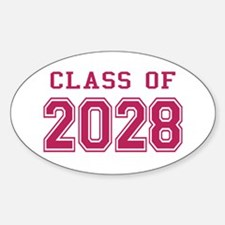 Class of 2028 (Pink) Decal