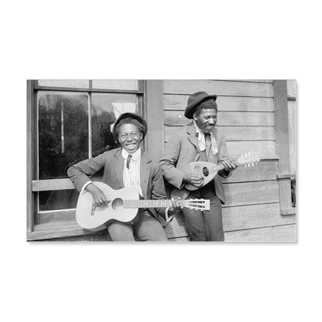 Travelling Musicians Wall Decal