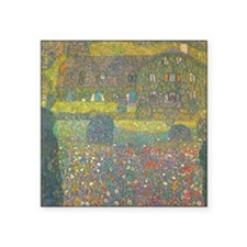 "Country House by Gustav Kli Square Sticker 3"" x 3"""