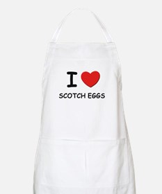 I love scotch eggs BBQ Apron