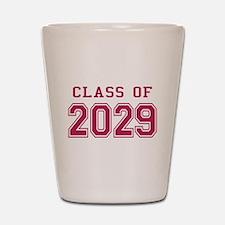 Class of 2029 (Pink) Shot Glass