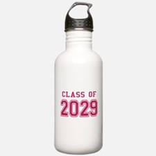 Class of 2029 (Pink) Water Bottle