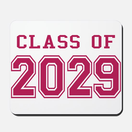 Class of 2029 (Pink) Mousepad