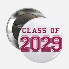 "Class of 2029 (Pink) 2.25"" Button"