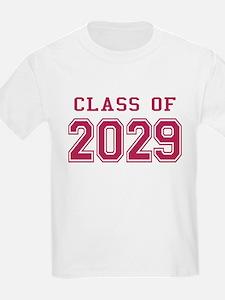 Class of 2029 (Pink) T-Shirt