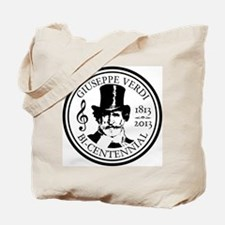 GIUSEPPE VERDI BI-CENTENNIAL Tote Bag