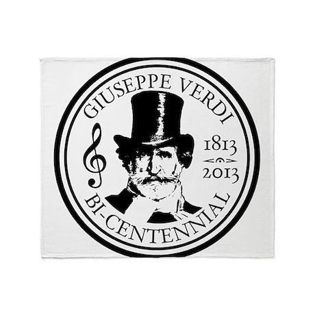 GIUSEPPE VERDI BI-CENTENNIAL Throw Blanket