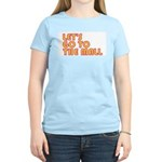 Let's Go To The Mall Women's Pink T-Shirt