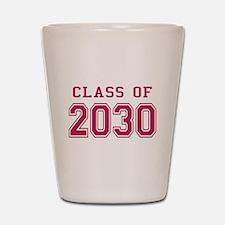 Class of 2030 (Pink) Shot Glass