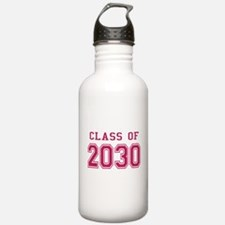 Class of 2030 (Pink) Water Bottle