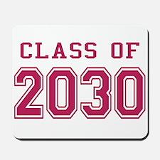 Class of 2030 (Pink) Mousepad