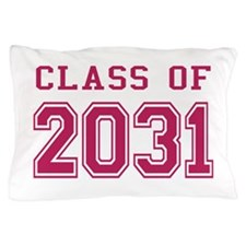 Class of 2031 (Pink) Pillow Case