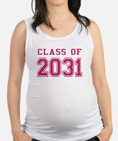 Class of 2031 (Pink) Maternity Tank Top