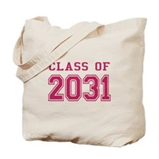Class of 2031 (Pink) Tote Bag