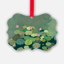 Bettys Serenity Pond Picture Ornament