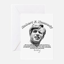 Robert F. Kennedy 01 Greeting Cards (Pk of 10)